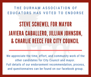 the Durham Association of Educators